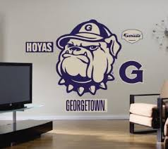 Georgetown Hoyas Logo Fathead Wall Decals 34 X 40 In Marnie Colley Dfge