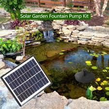12v 5w solar floating pump water