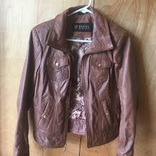 guess jackets coats womens leather