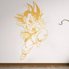 Manga Anime Wall Sticker Son Goku Bedroom Decal Vinyl Wall Stickers Mural Room Decor Art Decals Removable Vinyl Wallpaper Space Wall Stickers Spiderman Wall Stickers From Onlybrand 10 93 Dhgate Com
