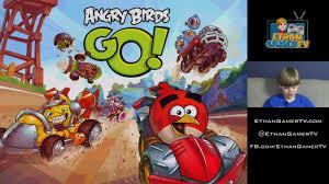 Ethan plays Angry Birds GO! - YouTube
