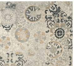 talia printed rug pottery barn