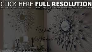 mirror wall accents decorative tile