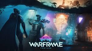 warframe fortuna artwork poster 4k