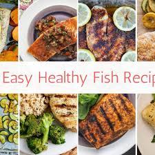 12 Easy Healthy Fish Recipes - Slender ...