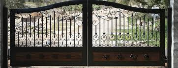 Entry Gates Temecula Ca Wrought Iron Wood Custom Automated Driveway Gates Murrieta Riverside