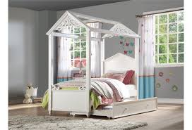Acme Furniture Rapunzel Cottage Full Canopy Bed | Dream Home ...