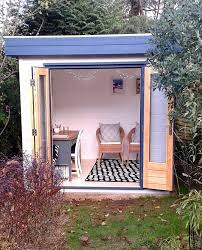 small garden studio interior with
