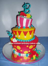 coolest topsy turvy cake