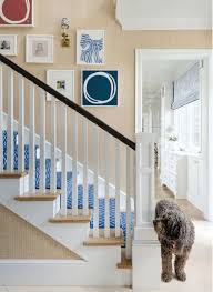 hillary-taylor-stairs-kayce-hughes-art-blue-and-white-runner - The ...