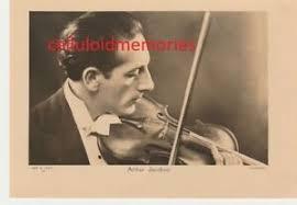 ARTHUR JACOBSON - Violinist - Autographed Vintage Photo Postcard ...