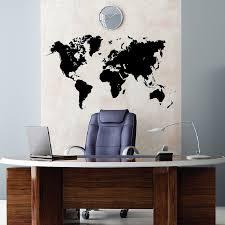 World Map Earth Wall Decal Sticker Atlas Globe Art 1248 Innovativestencils