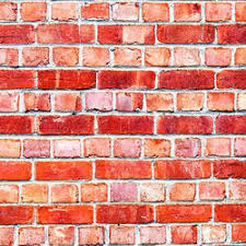 horizontal hd bricks printed wallpaper
