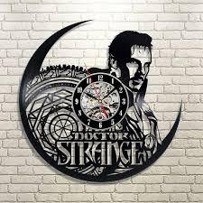 Doctor Strange Vinyl Record Clock Doctor Strange Art Vinyl Etsy Vinyl Record Clock Clock Doctor Strange Art