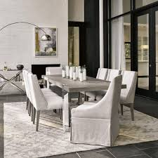 Modern Desmond Brown Extendable Dining Room Set Jennifer Furniture