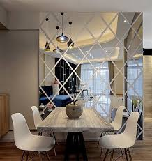 wall decal is made from acrylic mirrors