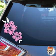 Amazon Com Cherry Blossoms Vinyl Die Cut Decal Sticker For Car Laptop Etc Handmade