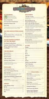 The Island Fish Company & Tiki Bar Menu