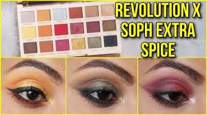 makeup revolution x soph extra e