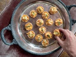 Crawfish Cardinale Tarts - Flower Magazine