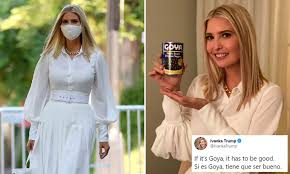 Ivanka Trump faces calls for ethics probe over Goya tweet | Daily ...