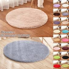 80 100 120 140 160cm Fluffy Round Rug Carpets For Living Room Decor Faux Fur Carpet Kids Room Plush Rugs Bedroom Shaggy Area Rug Modern Tatami Mat 16 Colors Wish