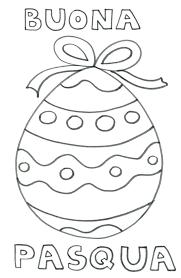 Auguri Di Buona Pasqua Con Uovo La Scuola Di Rosa Con Rosa Da ...