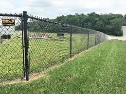 4ft Tall Black Chain Link Mac S Fence