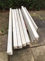 X6 Concrete Fence Posts 2 4m 8ft In Barnsley For 50 00 For Sale Shpock