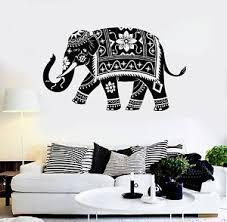 Vinyl Wall Decal Elephant India Hindu Animal Decor Stickers Murals Ig4913 Ebay