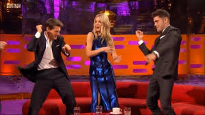 Tom Cruise, Annabelle Wallis and Zac Efron Dance - The Graham ...