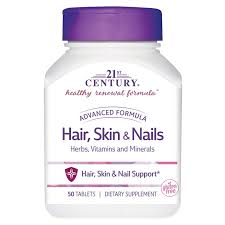 21st century hair skin and nails 50