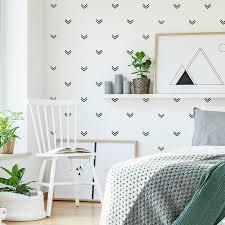 Hot Promo 8632e9 55 Pcs Geometric Scandinavian Arrow Wall Sticker Baby Nursery Kids Room Triangles Arrow Pattern Wall Decal Bedroom Vinyl Decor Cicig Co
