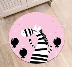 Kids Pink Zebra Rug Bedroom Mat Chidrens Rugs Child S Mat Cartoon Rugs Mats And Rugs Kids Room Accessories Bedroom Accessories Carpet Kids Room Accessories Zebra Rug Bedroom Rug