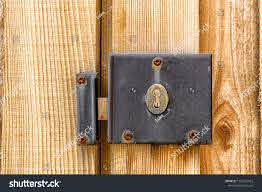 Weathered Worn Metal Lock Mechanism Rusted Stock Photo Edit Now 1369325963