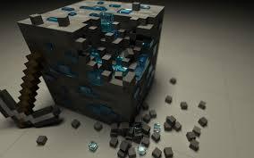 minecraft 3d cube wallpaper 4k ultra hd