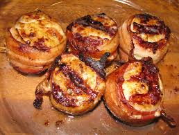 Grilled Bacon Wrapped Scallops