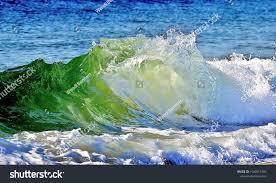 Sun Filters Through Ocean Water Enhance | Nature Stock Image 1500915782