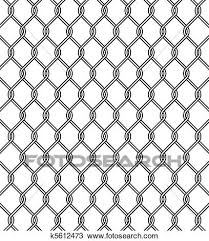 Chain Link Fence Texture Clipart K5612473 Fotosearch