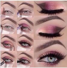 how to diy stunning hot pink smokey eye