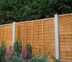 Forest Premier 6 X 6 Ft Fence Panel Slatted Fence Panels Horizontal Slat Fence Fence Panels