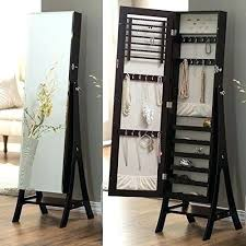 free standing mirror jewellery box