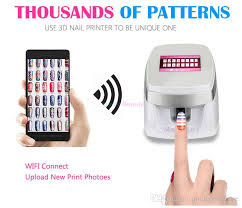 nails digital mobile nail art printer