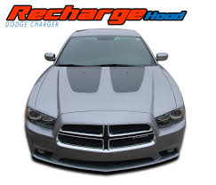 Recharge Hood Dodge Charger Stripes Charger Decals Charger Vinyl Graphics
