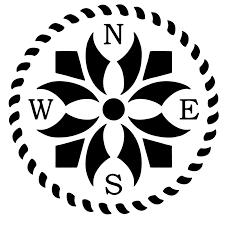 Celtic Flower Compass Vinyl Decal In 2020 Vinyl Decals Celtic Vinyl