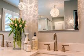 glamorous master bathroom expansion