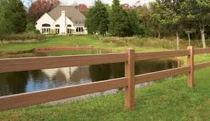 Post Rail Maintenance Free Vinyl Horse Fencing Discount Fence Supply