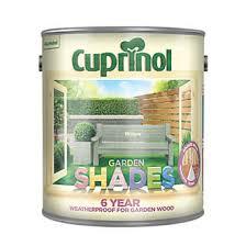 Cuprinol Garden Shades Woodstain Matt Willow 2 5ltr Exterior Wood Paint Screwfix Com