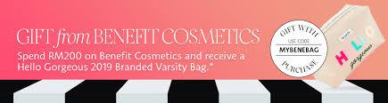 benefit cosmetics sephora msia