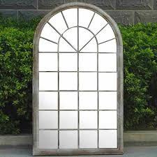 arch garden mirror outdoor indoor